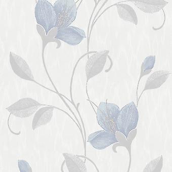 Holden Decor Juliet Bleu Gris Pâle Fond d'écran 35940