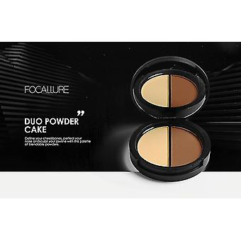 Double Use Highlighter Bronzer Shadow Palette Brighten Set Bronzers & Highlighters