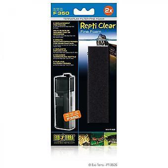 Exo-terra Fine Foam Replacement Filter - For Repti Clear F 350