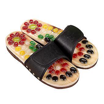 تدليك القدم العلاج بالابر النعال أحذية الصنادل للرجال النساء الإغاثة بلانتار