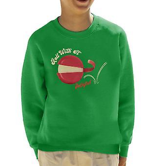 Baby Bel Roll med det barns sweatshirt