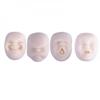 Evago 4pcs Funny Human Face Emotion Balls,scented,fidget Toys Stress Relief Squeeze Ball Stress Toys For Kids And Adults,sensory Toys For Autism,anxie