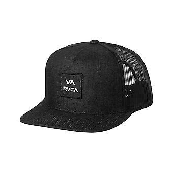 RVCA VA All The Way Cap in Black/White