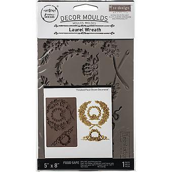 "Prima Marketing Re-Design Mould 5""X8""X8mm - Lagerkrans"