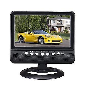 7,5 tuuman laaja katselukulma auto kannettava tv analoginen mobiili DVD-televisio