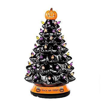 Decoración del árbol de Halloween multicolor iluminado árbol de halloween adornos para fiestas en casa lc151
