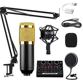 BM800 Condenseur Microphone Voix professionnelle