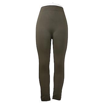 Rhonda Shear Women's Leggings XL/1X Reg/Plus 2-pack Green 679977