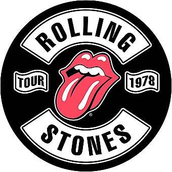 The Rolling Stones back patch: tour 1978