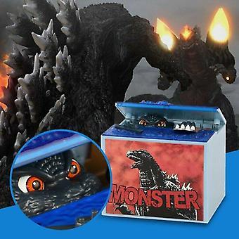 Elektroninen kolikkoraha säästöpossu Godzilla-musikaali
