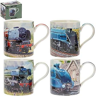 Classic Trains Mugs Assorted