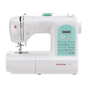 Sewing Machine Singer STARLET 6660 White, Number of meshes 60, Number of buttonholes 4, Automatic threading