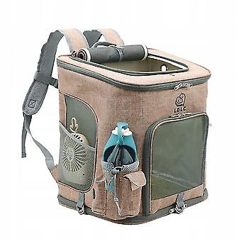 Pet carriers crates dog backpack foldable transport bag for dogs and cats.