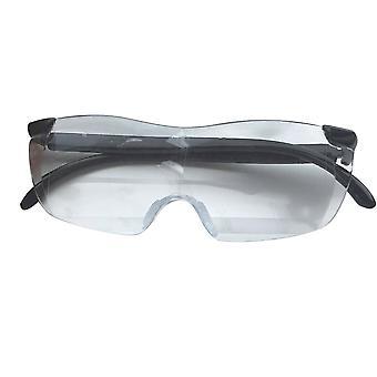 Okuliare na čítanie veľkého videnia Bezrámové zväčšovacie 1,6-krát okuliare 250 stupňov zväčšujú okuliare 1 kus
