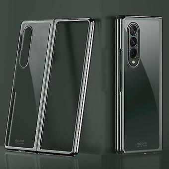 Samsung Galaxy Z Fold 3 Hülle, für Samsung Galaxy Z Fold 3 5g Galvanik Transparente ultradünne Schutzhülle