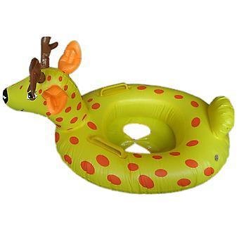 Sika Hirsch Cartoon Tier Kinder Aufblasbare Wasser Taxis Spielzeug Schwimmring