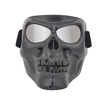 Devil Goggles Moto Cross-country Lunettes De masque de crâne Lunettes d'équitation Vent