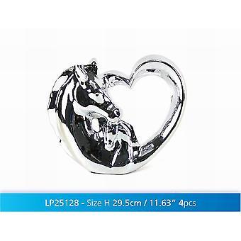 Silver Art Horse 14