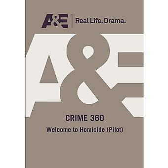 Crime 360: Welcome to Homicide (Pilot) [DVD] USA import