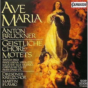 A. Bruckner - Anton Bruckner: Ave Maria; Geistliche Ch Re-Motets [CD] USA import
