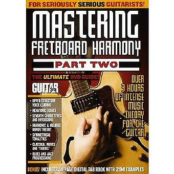 Mastering Fretboard Harmony Pt. 2 [DVD] USA import