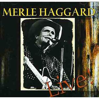 Haggardmerle - workin ' Man Blues-Live [CD] USA importeren