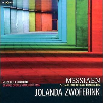 Messiaen / Zwoferink, Jolanda - Messiaen: Messe De La Pentecote [CD] USA import