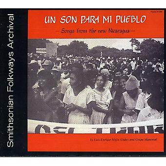 Luis Godoy & Grupo Mancotal - Un Son Para MI Pueblo-Songs From the New Nicaragua [CD] USA import