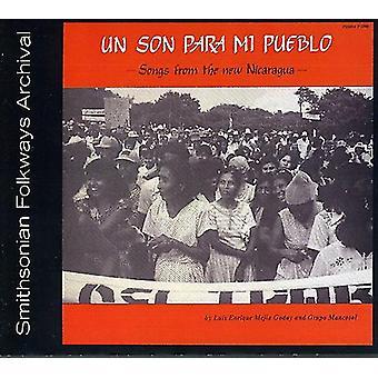 Luis Godoy & Grupo Mancotal - Un Son Para MI Pueblo-Songs From the New Nicaragua [CD] USA import
