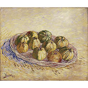 Vincent Van Gogh - Still Life with Apples, 1887 02 Poster Print Giclee