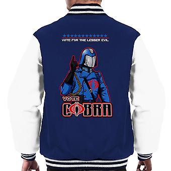 GI Joe stemming Cobra commandant mindere kwaad mannen Varsity Jacket