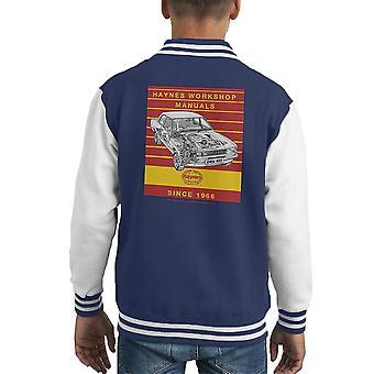 Хайнс мастерская ручной 0409 Ford Cortina 1300 полосой Kid Varsity куртка