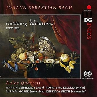 Aulos Quartet - Bach J.S.: Goldberg Variations [CD] USA import