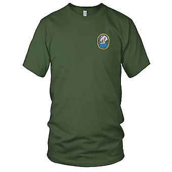 U.S. Navy USNS Kanawha T-AO 196 gestickt Patch - Herren-T-Shirt