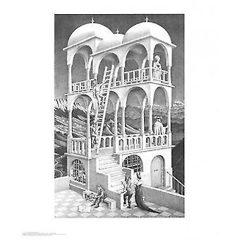 Belvedere Poster Print von MC Escher (22 x 26)
