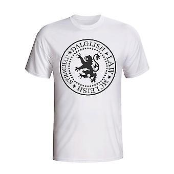 Schottland Presidential T-shirt (weiß)