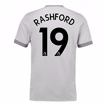 2017-2018 Манчестер Юнайтед Третья футболка (Rashford 19) - дети