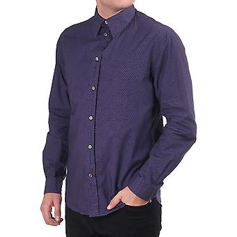 Paul Smith Jeans Ls Tailored Fit Shirt With Spot Detail
