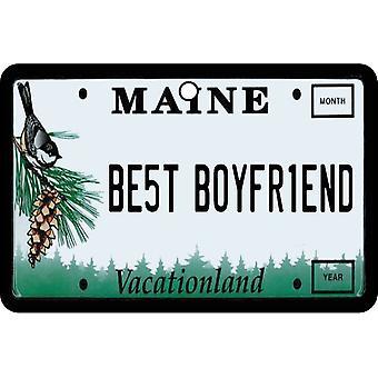 Maine - meilleur copain plaque d'immatriculation voiture assainisseur d'Air