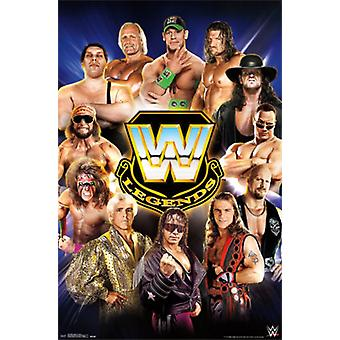 WWE Legends - grupo 14 Poster Print