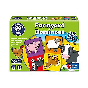 Orchard Toys New Farmyard Dominoes