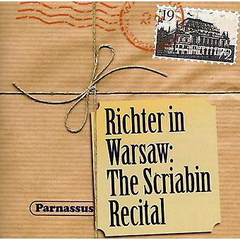 A. Scriabin - Richter in Warsaw: The Scriabin Recital [CD] USA import