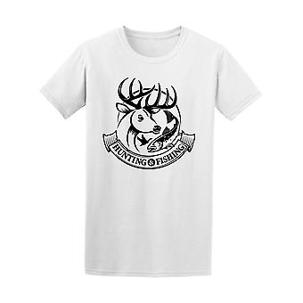 Hunting And Fishing Graphic Tee Men's -Image by Shutterstock
