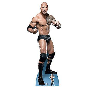 The Rock Dwayne Johnson Fight Stance WWE Lifesize Cardboard Cutout / Standee / Standup