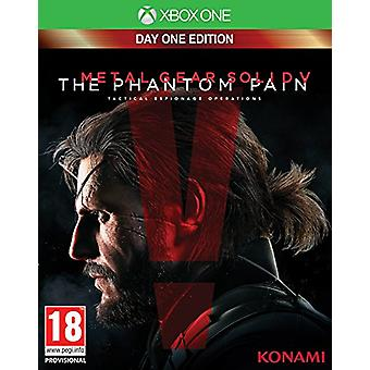 Metal Gear Solid V The Phantom Pain Day One Edition Xbox One Game - New