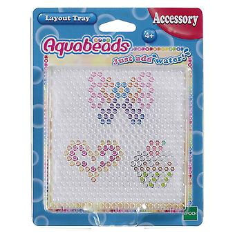 Aquabeads lay-out Tray