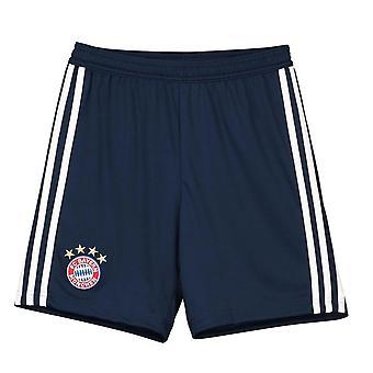 2018-2019 Bayern Munich Adidas Accueil Shorts (Navy) - enfants