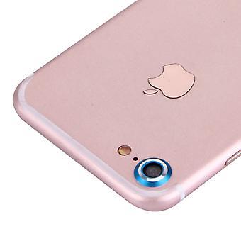 Kamera Schutz Protector Ring für Apple iPhone 7 Blau