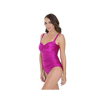 Seaspray SY006288A Women's Pink Long Length Costume One Piece Swimsuit
