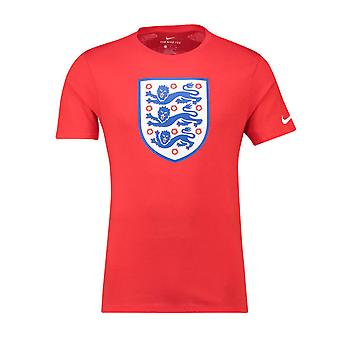 2018-2019 Angleterre Nike Evergreen Cimier Tee (rouge)